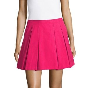 Alice + Olivia Bright Pink Conner Skirt 2 Cute